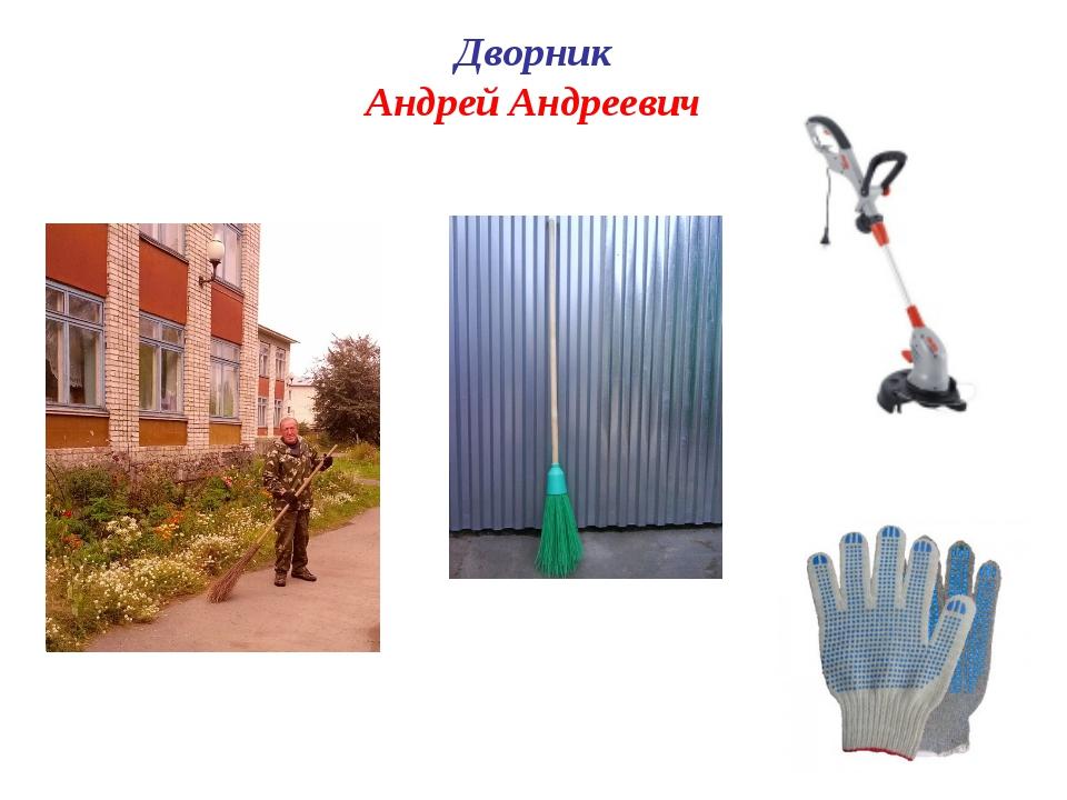 Дворник Андрей Андреевич
