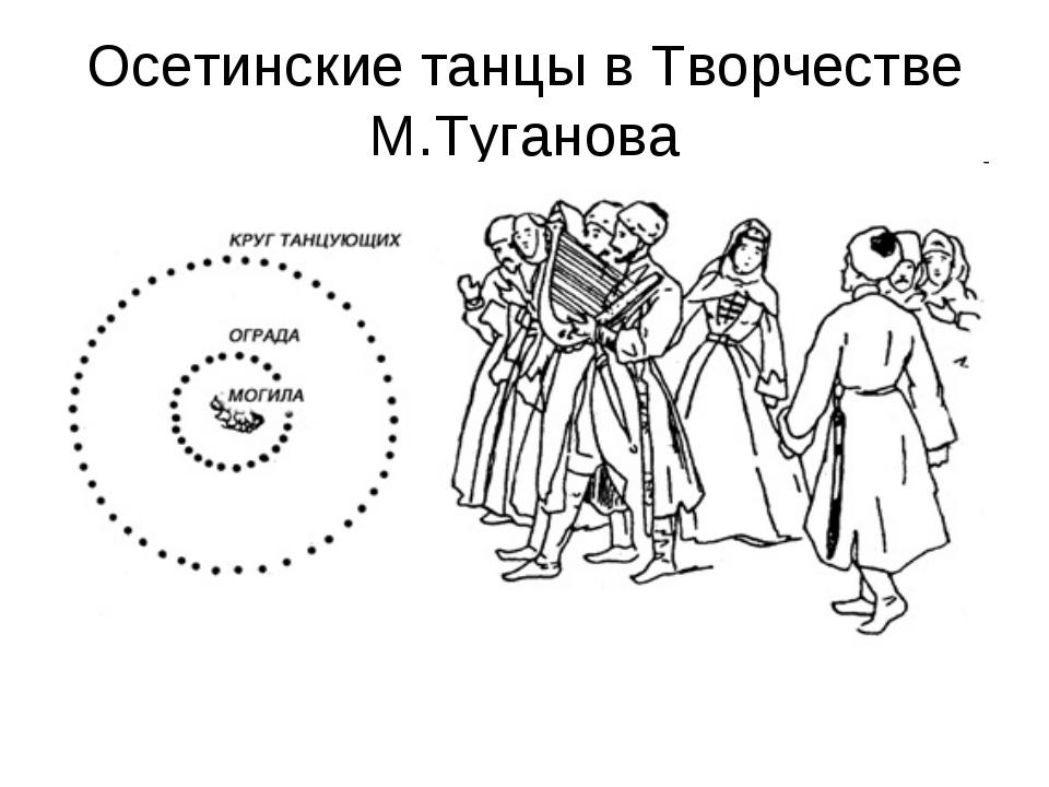 Осетинские танцы в Творчестве М.Туганова