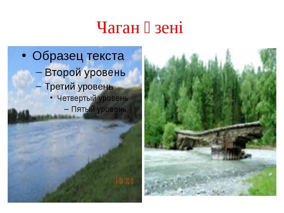 Чаган өзені