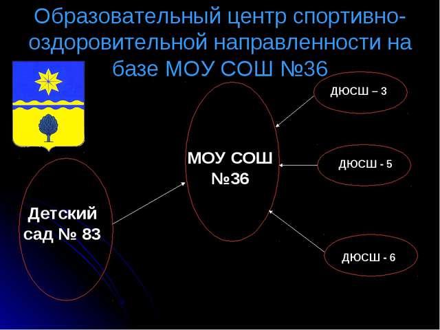 Образовательный центр спортивно-оздоровительной направленности на базе МОУ СО...