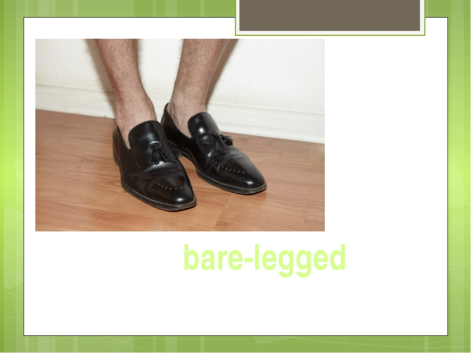 bare-legged