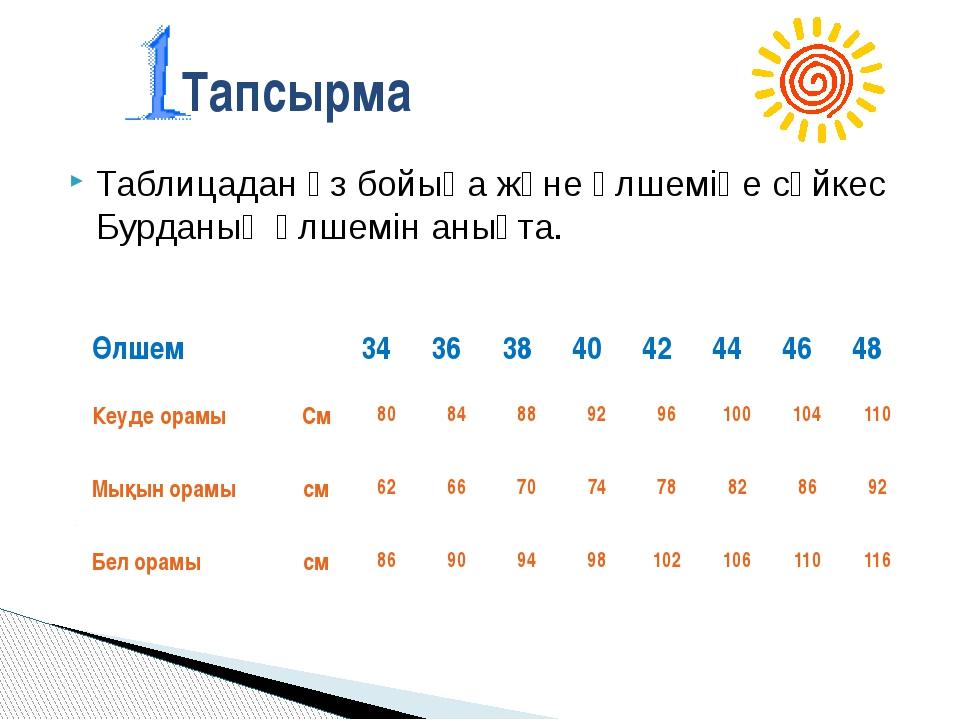 №6тапсырма Пішім парағына енгізілетін өлшем түрі: А 6 В 5 С 3 Д 4 Е 2 №7 тап...