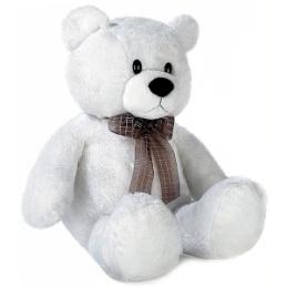 Игрушка Медведь белый сидячий 35 смм - Легогоша