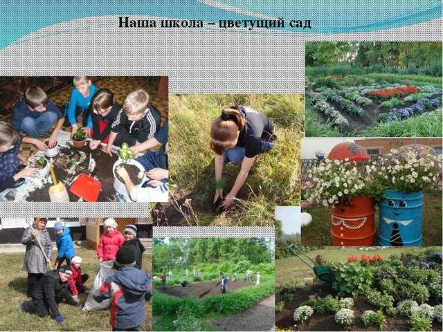 Наша школа – цветущий сад