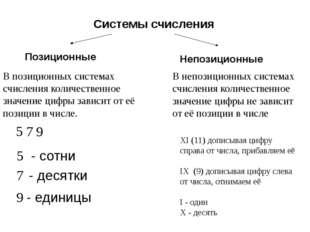 Перевод целых чисел из двоичной СС в десятичную СС. = Алгоритм перевода: Дво