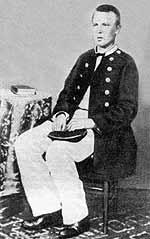 С. О. Макаров на корвете «Варяг», 1865 г.