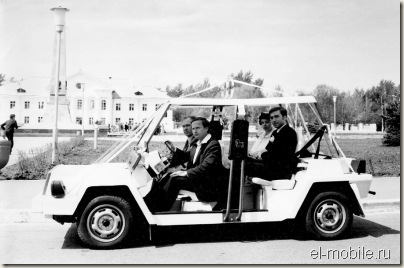 проект электромобиля ВАЗ-1801 Пони