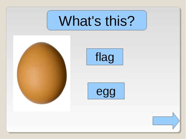 What's this? egg flag