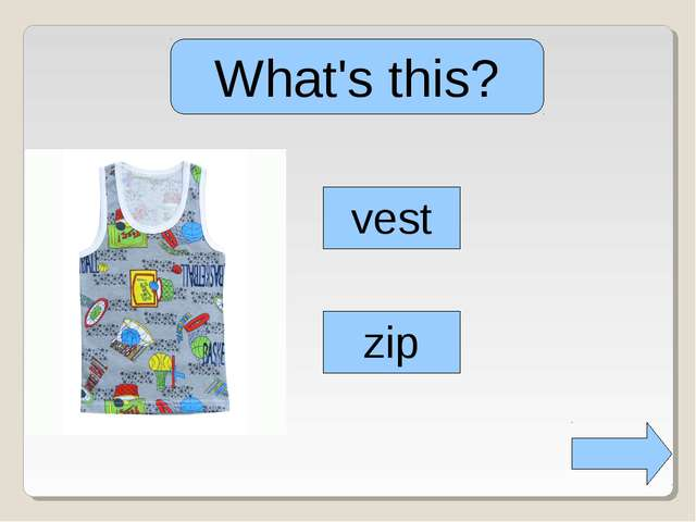 What's this? glass vest zip