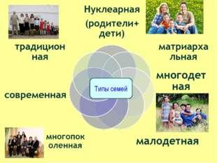 Типы семей
