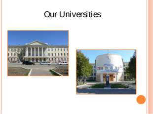 Our Universities