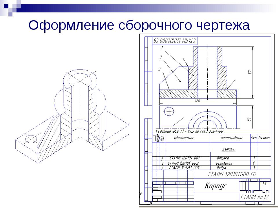 Как из сборки сделать чертеж в компасе