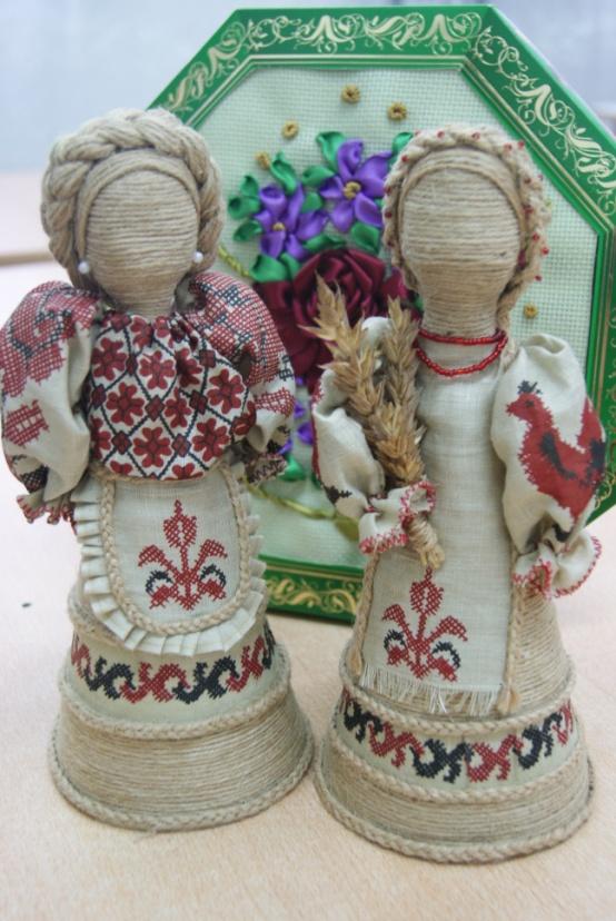 Куклы из джута своими руками 74