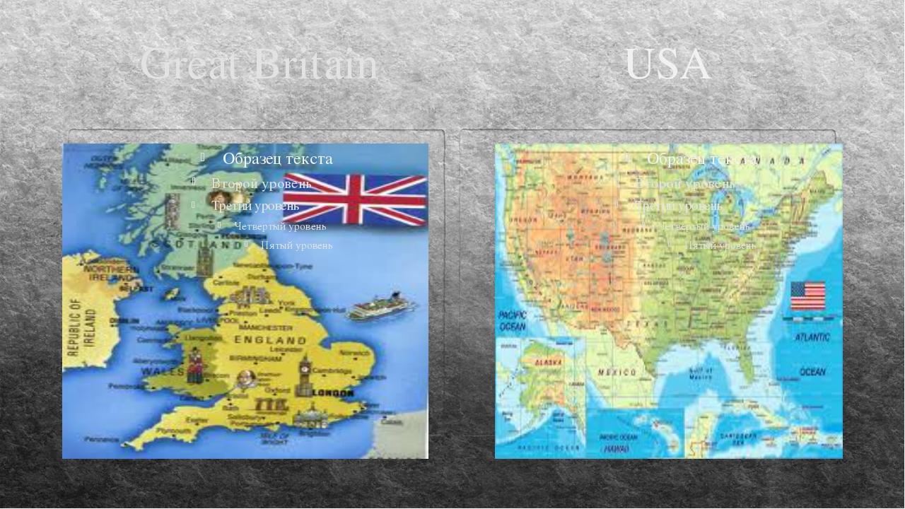 Great Britain USA