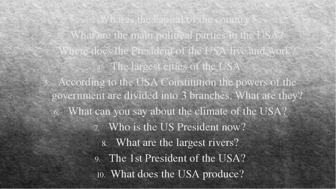 What is the capital of the country? What are the main political parties in th...