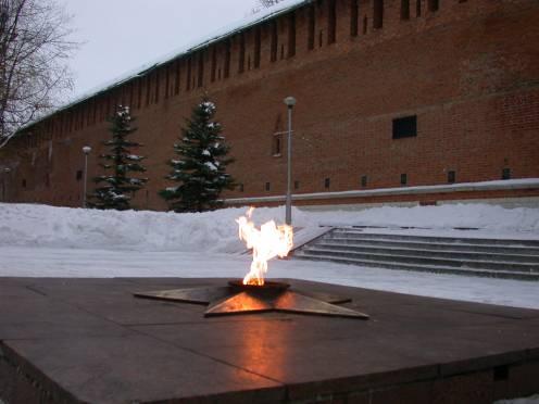 Вечный огонь был зажжен в 1968 году