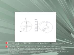 Ломаным разрезом называется сложный разрез, если секущие плоскости пересекают