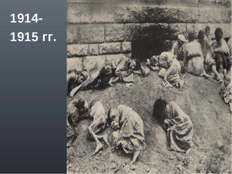 1914- 1915 гг.