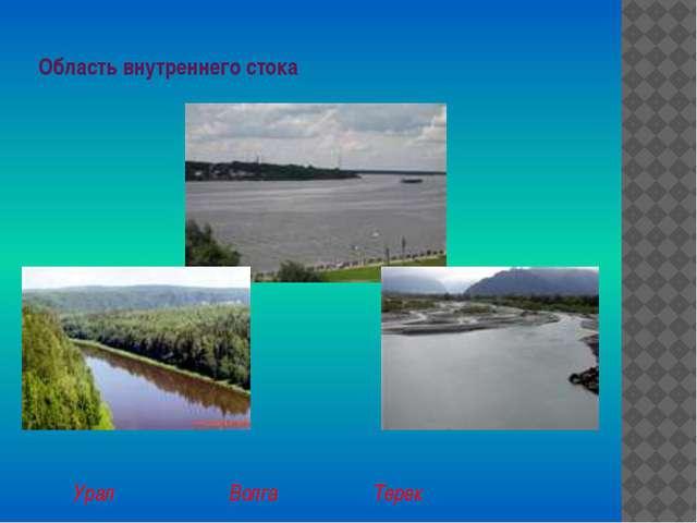 Область внутреннего стока Урал Волга Терек
