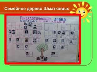 Семейное дерево Шматковых