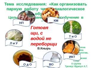Васькова Елена Михайловна Учитель технологии, ИЗО Константиновская СОШ 6 груп