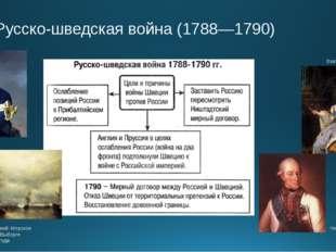 Русско-шведская война (1788—1790) И.К.Айвазовский. Морское сражение при Вы