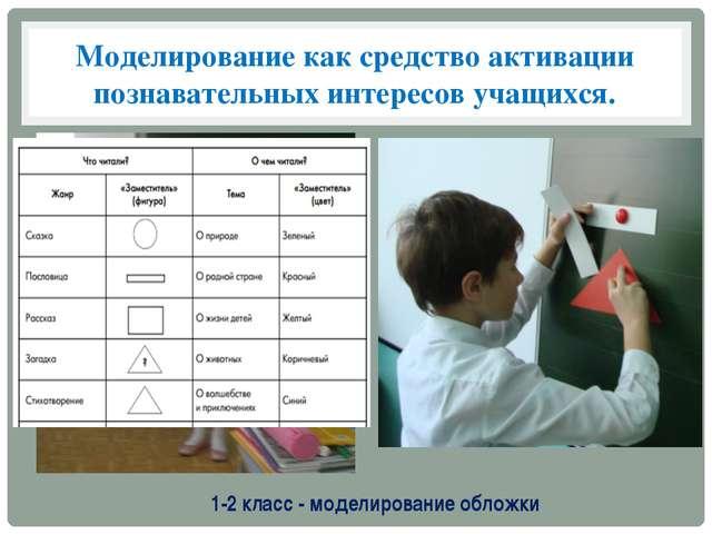 Моделирование как средство активации познавательных интересов учащихся. 1-2 к...
