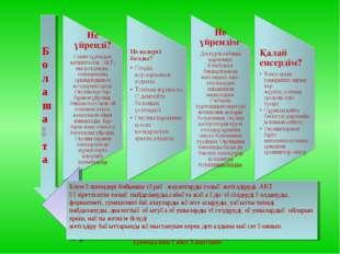 Ермеккалиев Габит Хамитович Блум өлшемдері бойынша сұрақ -жауаптарды толық ж