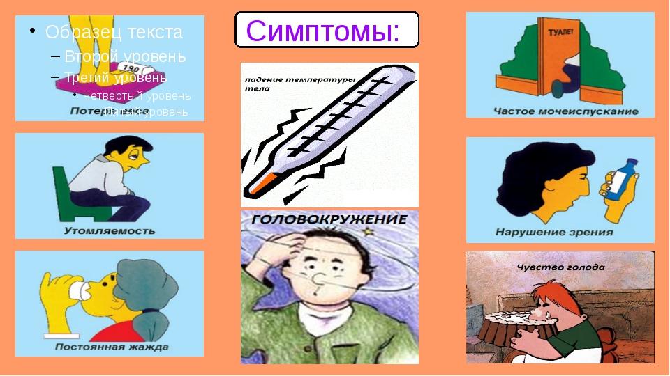 Симптомы::