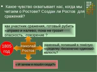 Какое чувство охватывает нас, когда мы читаем о Ростове? Создан ли Ростов дл
