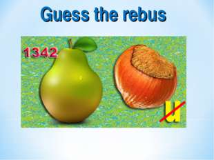 Guess the rebus