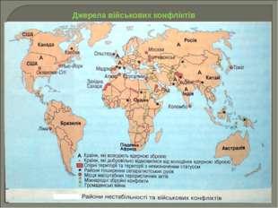 Джерела військових конфліктів