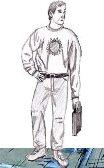 рисовать человека