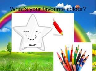What's your favourite colour? NAME