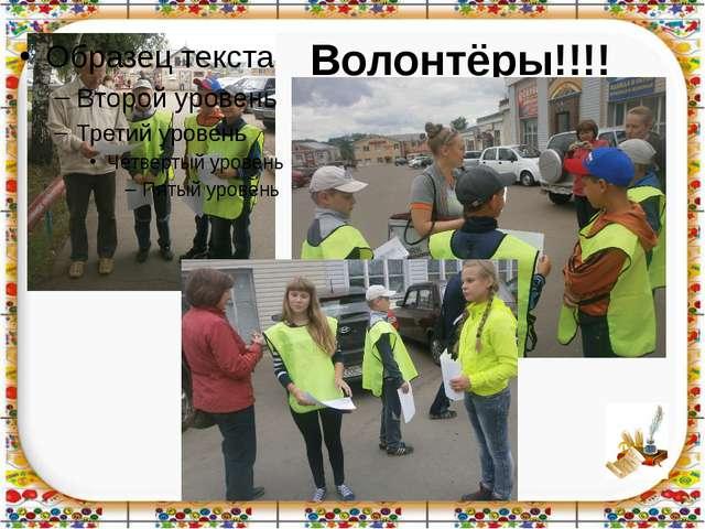 Волонтёры!!!!