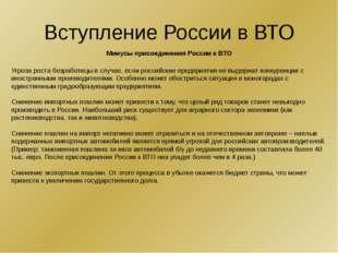 Минусы Первый: на мировом рынке Россия представлена главным образом сырьем –