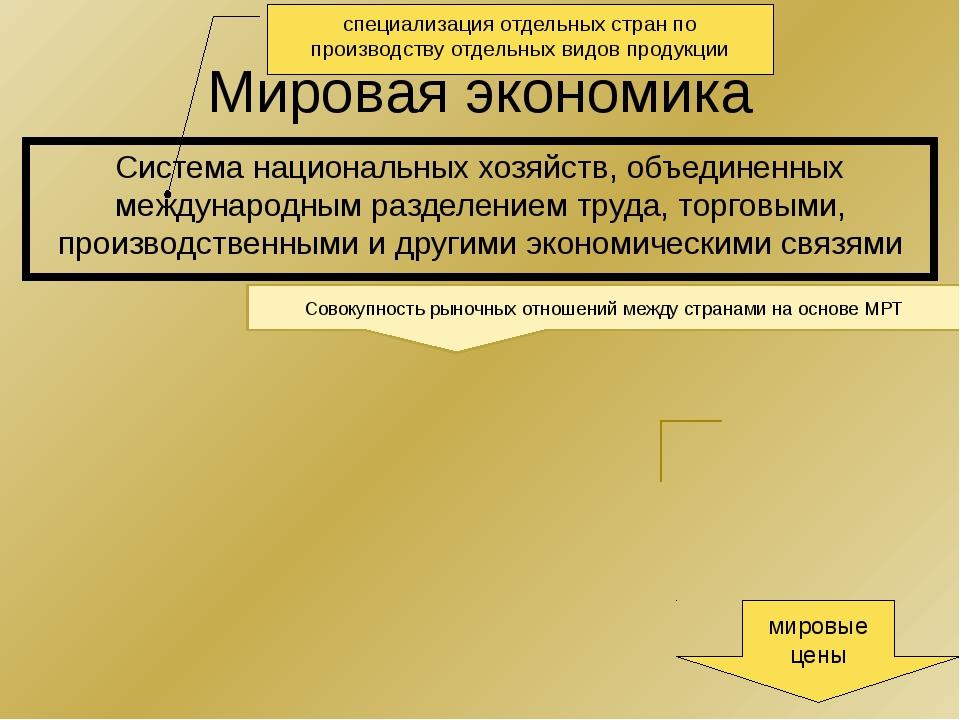Международная специализация Международное разделение труда основывается на ме...