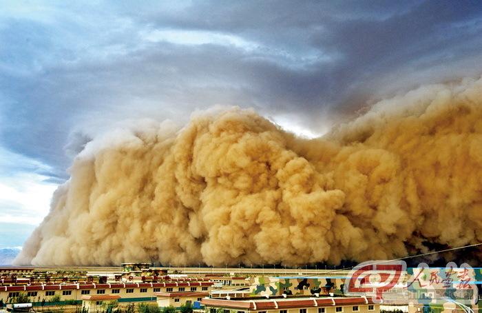 НОВОСТИ НА МЕТЕОНОВЕ - Аризону накрыла пыльная буря