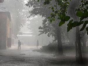 В Приамурье вновь идет мощный ливневый циклон