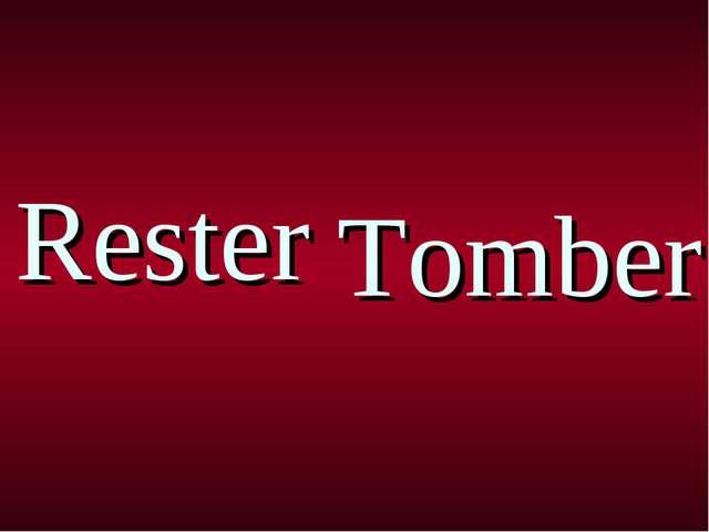 Rester Tomber