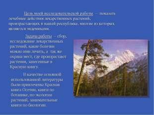 Задача работы – сбор, исследование лекарственных растений, какие болезни мож