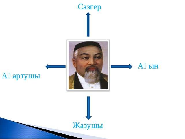 Ақын Жазушы Сазгер Ағартушы