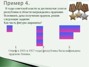Ответ: в 1935 и 1957 годах республика была награждена орденом Ленина. В годы