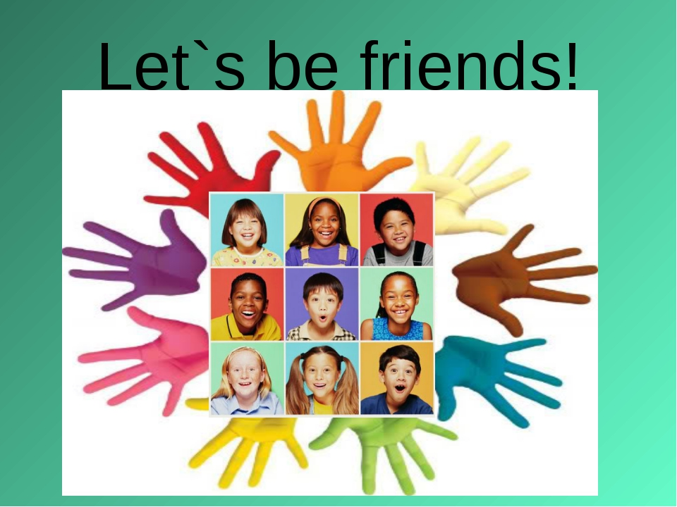 Let`s be friends!