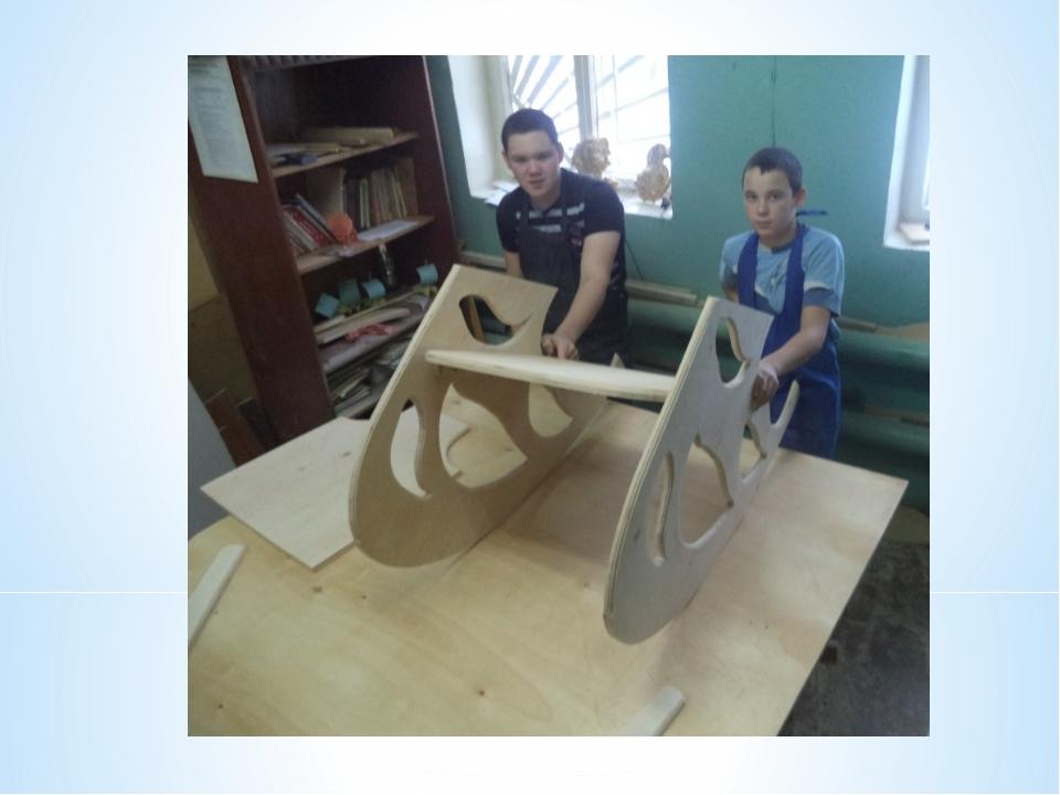 Творческий проект по технологии Кресло качалка  Описание слайда № слайда 20