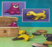 Ашық сабақ: Үй жануарларын мүсіндеу