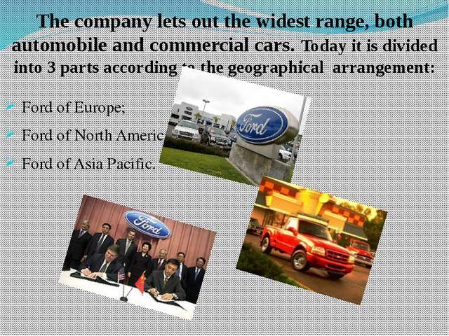 The company lets out the widest range, both automobile and commercial cars. T...