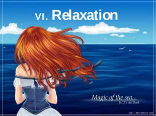 VI. Relaxation