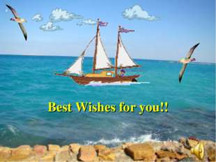 Best Wishes for you!!