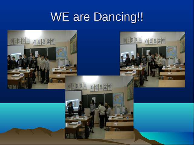 WE are Dancing!!